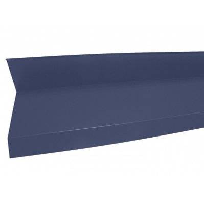 Mccover Rive contre mur 2100mm Bleu ardoise 5008, L : 2100mm