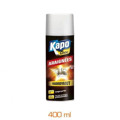 Kapo Anti-araignées foudroyant - aérosol 400 mL