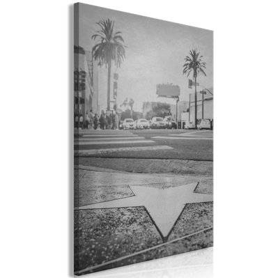 Artgeist 40x60 - Tableau - Avenue of the Stars (1 Part) Vertical