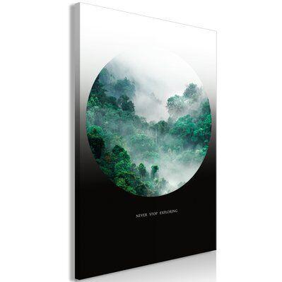 Artgeist 40x60 - Tableau - Never Stop Exploring (1 Part) Vertical