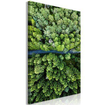 Artgeist 40x60 - Tableau - Road Through Forest (1 Part) Vertical