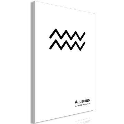 Artgeist 40x60 - Tableau - Aquarius (1 Part) Vertical