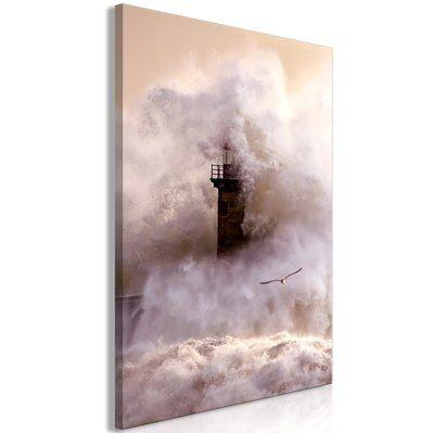 Artgeist 40x60 - Tableau - Storm (1 Part) Vertical