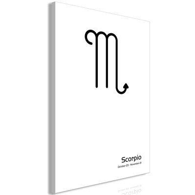 Artgeist 40x60 - Tableau - Scorpio (1 Part) Vertical
