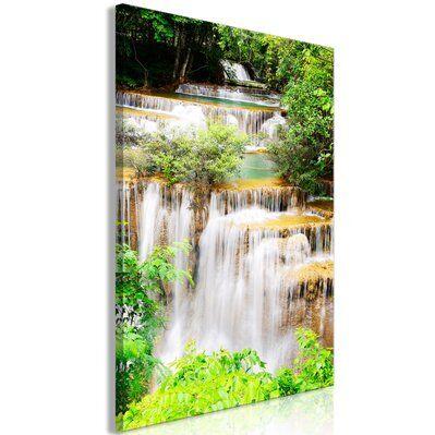 Artgeist 60x90 - Tableau - Paradise Waterfall (1 Part) Vertical
