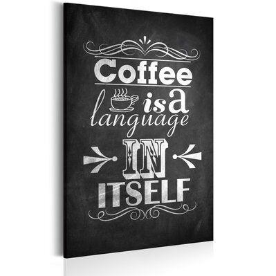 Artgeist 40x60 - Tableau - Langage du café