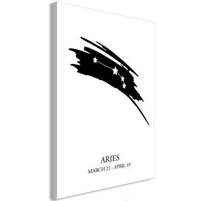 Artgeist 40x60 - Tableau - Zodiac Signs: Aries (1 Part) Vertical