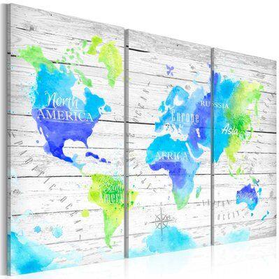 Artgeist 60x40 - Tableau - Voyages colorés