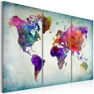 Artgeist 60x40 - Tableau - Monde coloré
