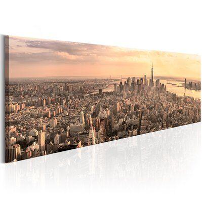 Artgeist 120x40 - Tableau - NYC: Urban Beauty