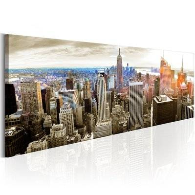 Artgeist 120x40 - Tableau - Manhattan: Island for Rich