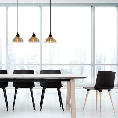 Luminaires Design Suspension - 72 x 72 x 108 cm - noir