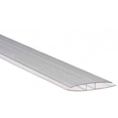 Mccover Profil polycarbonate de jonction - E : 16 mm, L : 300 cm