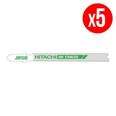 Hitachi Lames pour scie sauteuse - métal - 65 mm - 5 pièces