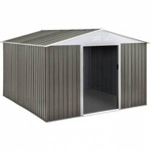 """Habitat & Jardin Abri jardin métal """"Dallas"""" - 8,84 m² - Publicité"""