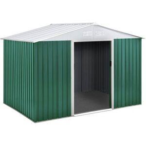 "Habitat & Jardin Abri de jardin métal ""Rosas"" - 4,07 M² - Publicité"