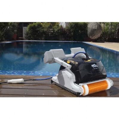Dolphin Robot de piscine DOLPHIN EX40 - fond, parois & ligne d'eau - noir
