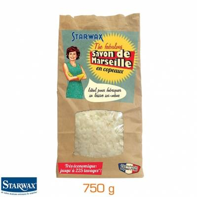 Starwax Savon de Marseille en copeaux - sachet 750 g