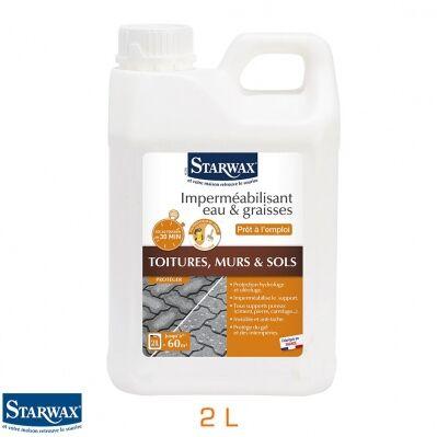 Starwax Imperméabilisant eau et graisses - bidon 2 L