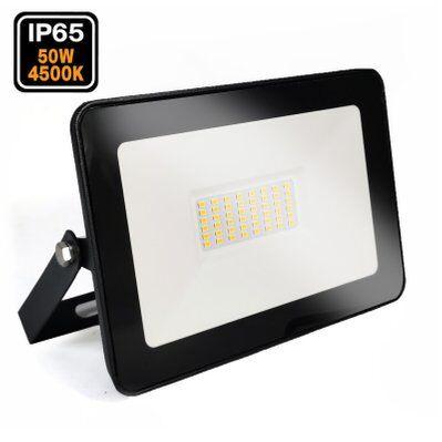 Europalamp Projecteur LED 50W Ipad Blanc neutre 4500K Haute Luminosité