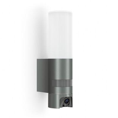 Steinel Applique murale L 620 Cam LED - détecteur de mouvement - caméra - interphone - 13,5W - blanc chaud - IP44 – anthracite