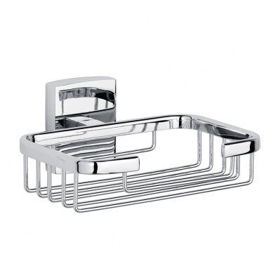 Tesa Porte-savon avec grille TESA® Klaam - chromé/carré
