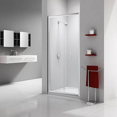Merlyn Porte pliante EXPRESS - 80 cm - traitement anti-calcaire