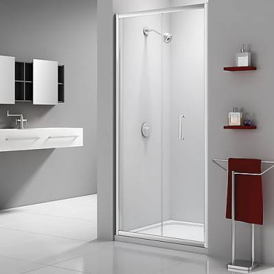Merlyn Porte coulissante EXPRESS - 110 cm - traitement anti-calcaire