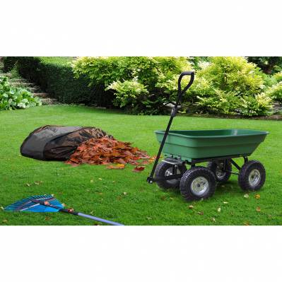 Pratik Garden Chariot de jardin - 52 L + sac 250 L - vert