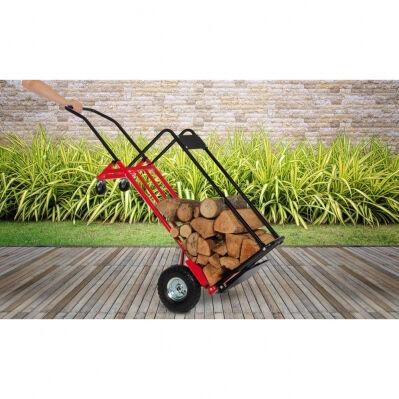 Pratik Garden Chariot 3 en 1 - 55 x 46 x 145 cm - acier