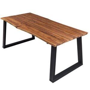 vidaXL Table de salle à manger 170x90x75 cm Bois d'acacia massif - Publicité