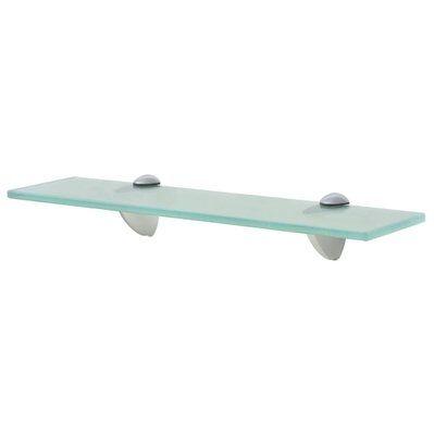 Helloshop26 Étagère armoire meuble design murale en verre 40x20 cm 8 mm transparent 2702144/2