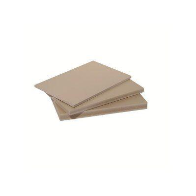 Mccover Panneau fibre composite plat et lisse Beige, E : 15 mm, l : 40 cm, L : 120 cm, Surface couverte en m² - 0.48
