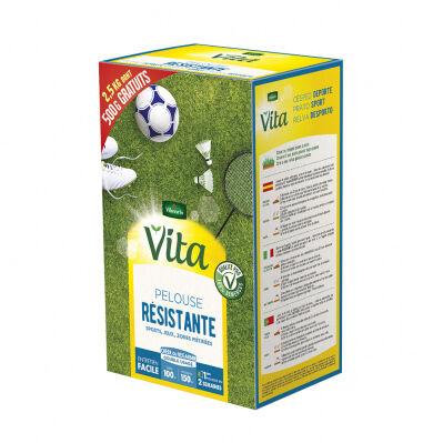 Vita By Vilmorin Pelouse résistante - 2,5 Kg dont 500 g offerts