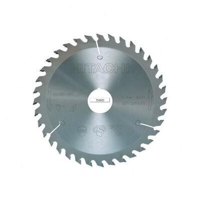 Hitachi Lame pour scie circulaire - bois - 180 x 30 mm - 18 dents