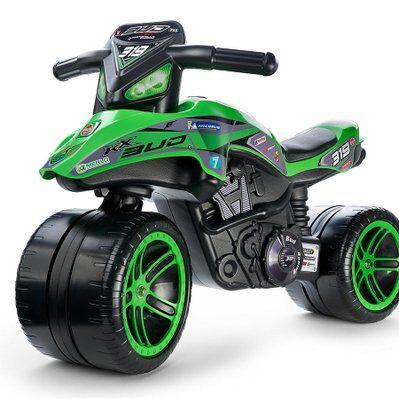 Falk Porteur enfant Moto Kawasaki bud racing - Falk