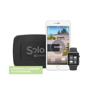 Brico Privé Dispositif SOLO de contrôle d'ouverture portail et garage par smartphone - Publicité