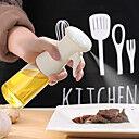 Pulvérisateur d'huile de 210 ml pour la cuisson, pulvérisateur d'huile d'olive, vaporisateur d'huile d'olive, distributeur d'huile d'olive pour salade, barbecue, cuisson au four, rôtissage, plastique