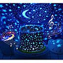 Projecteurs Lune Etoile Lampe Ciel Etoilé Eclairage LED Jouets Lumineux Lampe Constellation Projecteur étoile Brillant 5 V USB Batteries alimentées Enfant Adultes pour des cadeaux d'anniversaire et