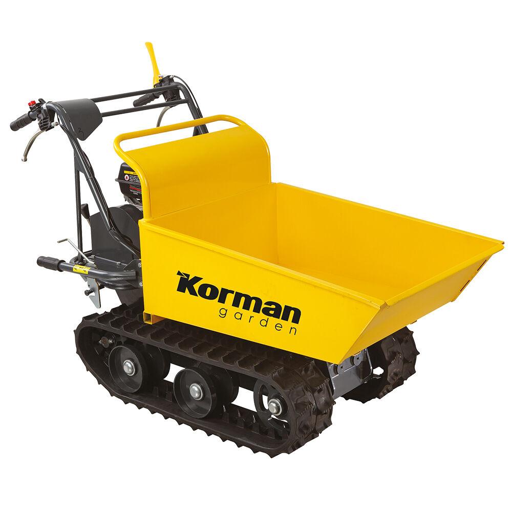Korman Garden Brouette Thermique 196cc à chenilles 180mm KORMAN