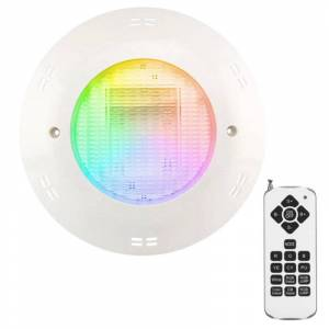 Crealys Projecteur Piscine LED Couleur 18W en saillie IP68 + Télécommande CREALYS - Publicité