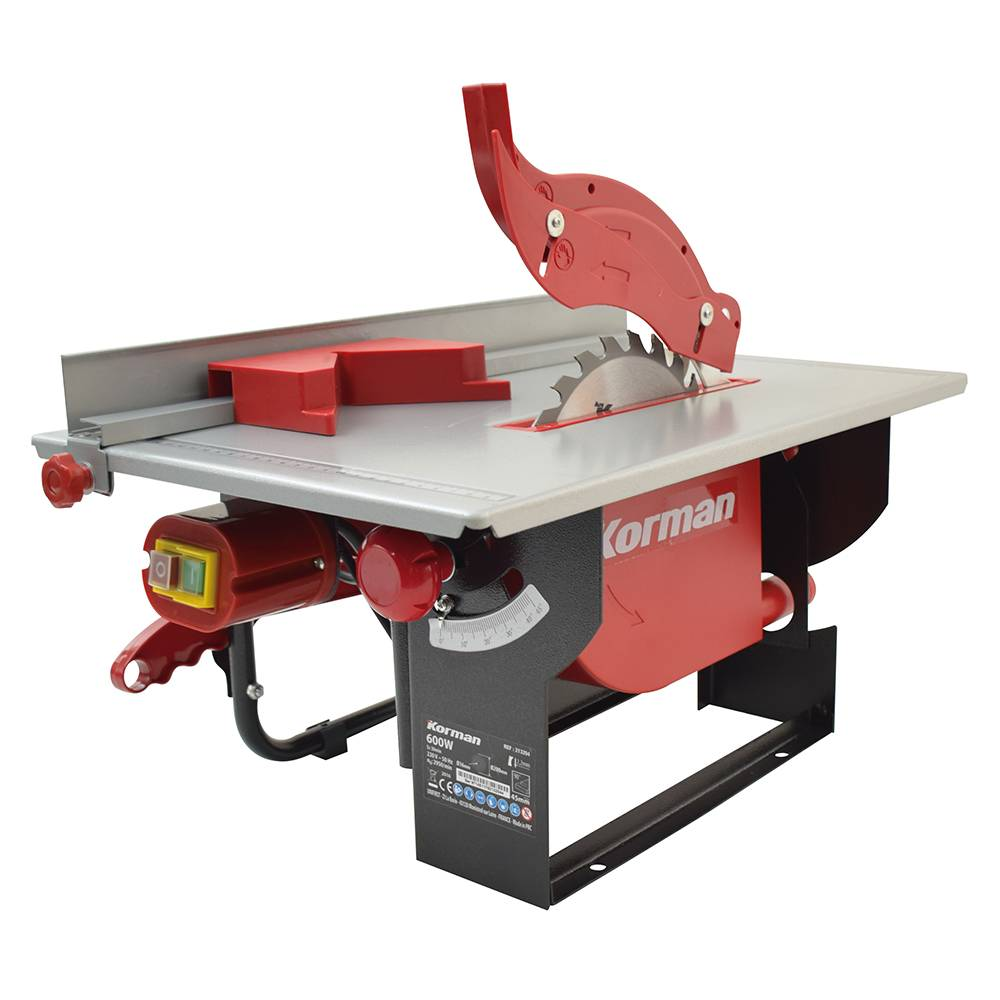 Korman Scie sur table 600W 200mm KORMAN