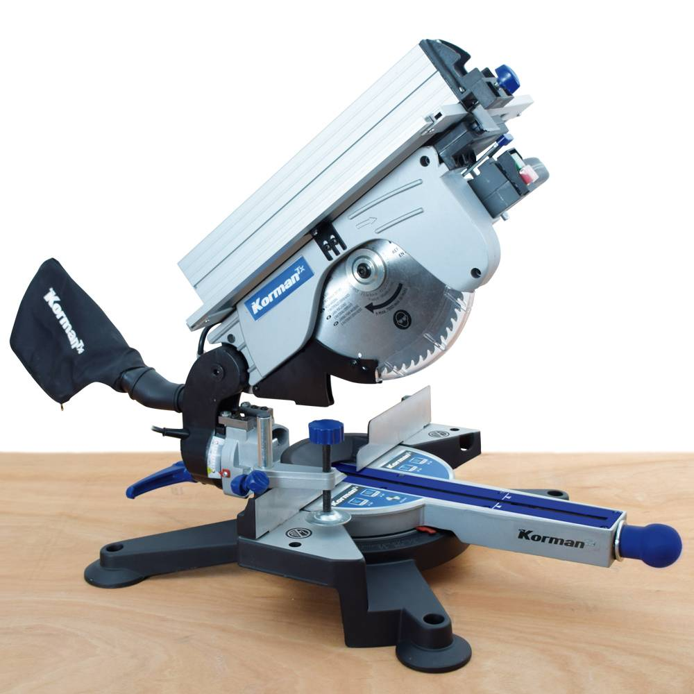 Korman Combiné scie à onglet / scie sur table 1800W 254mm KORMAN