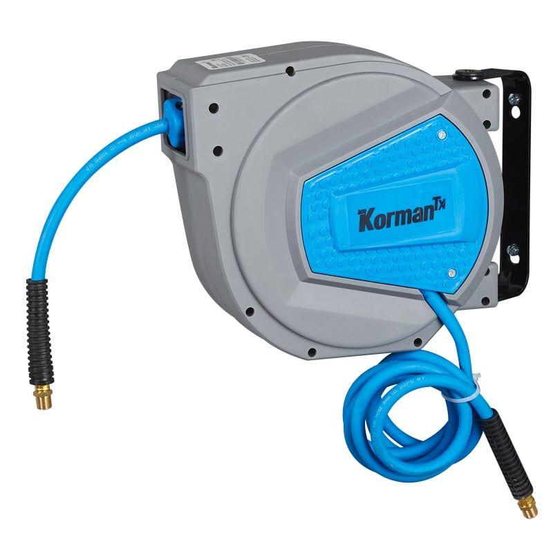 Korman TX Enrouleur Automatique De Tuyau d'Air Comprimé 9m