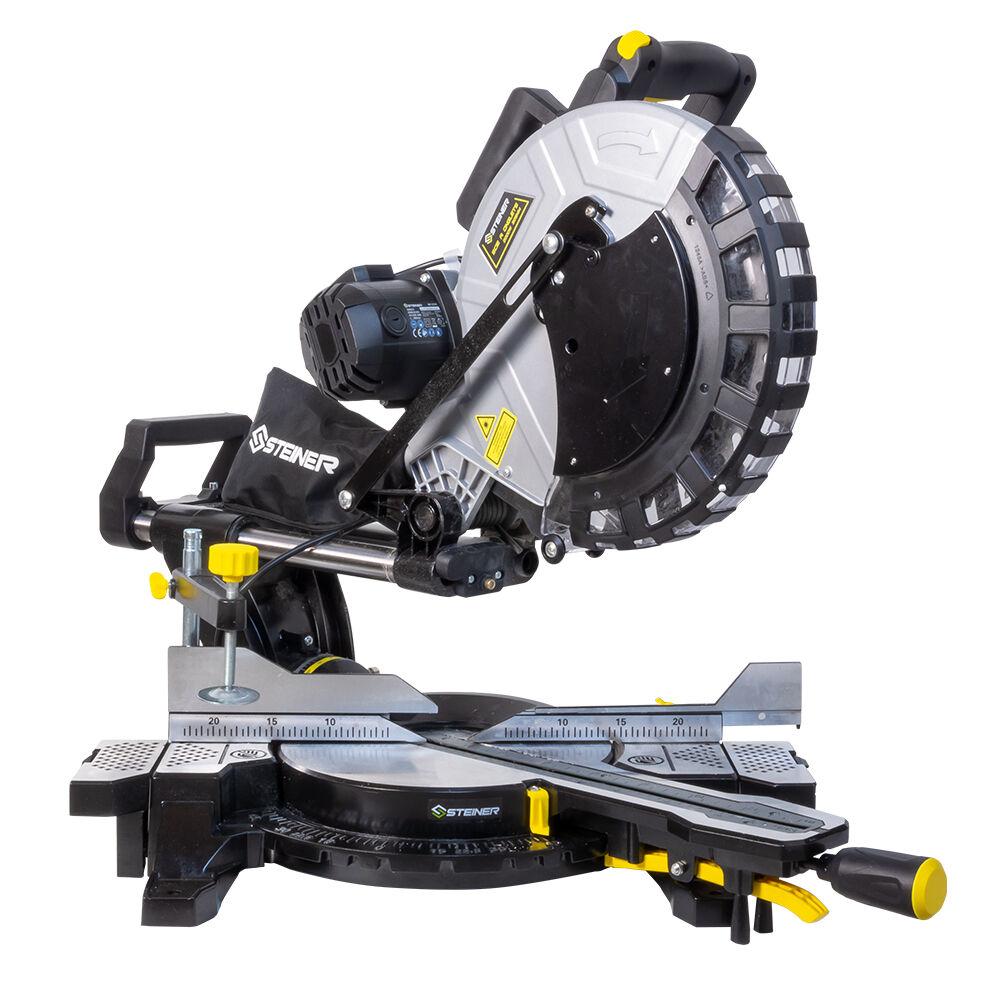 Steiner Scie à onglet radiale 2000W 305 mm laser double inclinaison STEINER