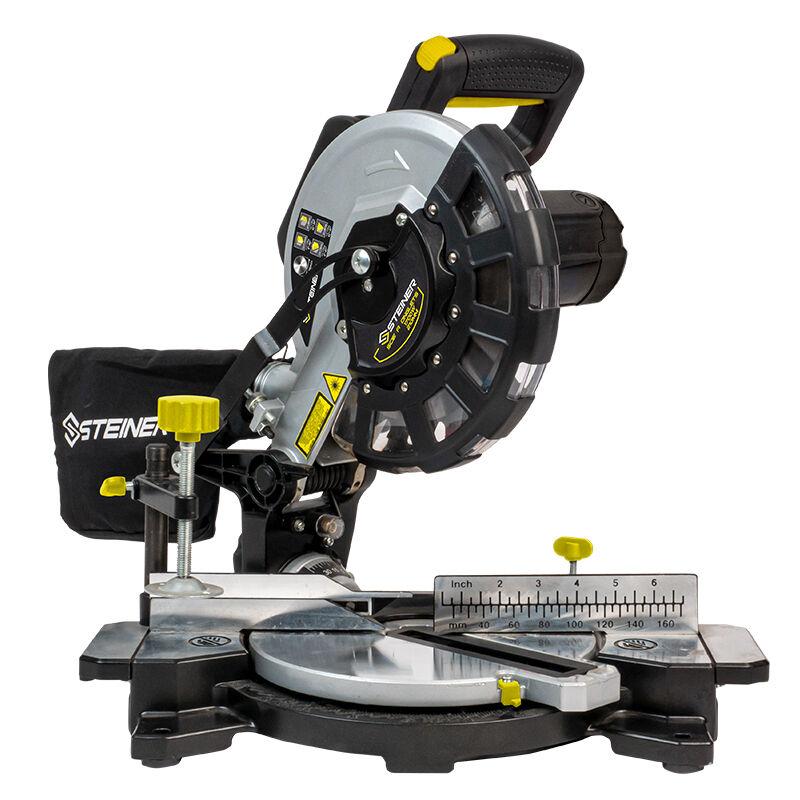 Steiner Scie à onglet 1700W 210 mm laser STEINER