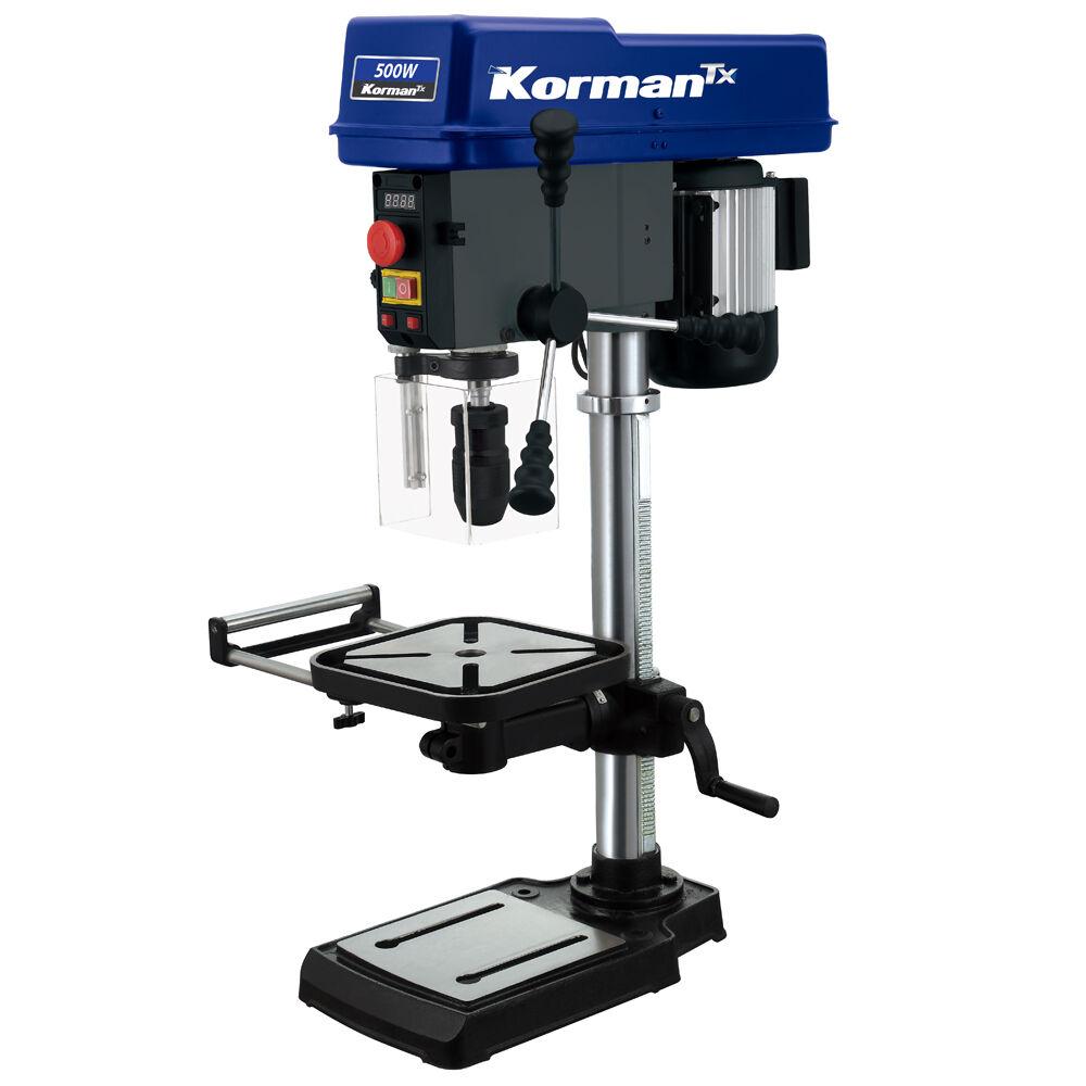 Korman TX Perceuse à colonne 500W 16mm Vitesse Variable KORMAN TX
