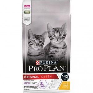 Pro Plan Original Kitten Optistart pour Chat 1,5 kg + Felix Party Mix Snacks