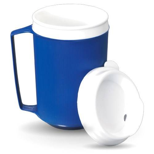 Careserve Mug isotherme avec couvercle