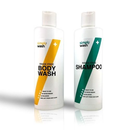 Careserve Pack Shampoing /Gel douche sans rinçage - 2x500 ml